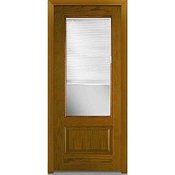 Entry Door With Built In Blinds.National Door Company Z021983l Entry Door Prehung Left Hand