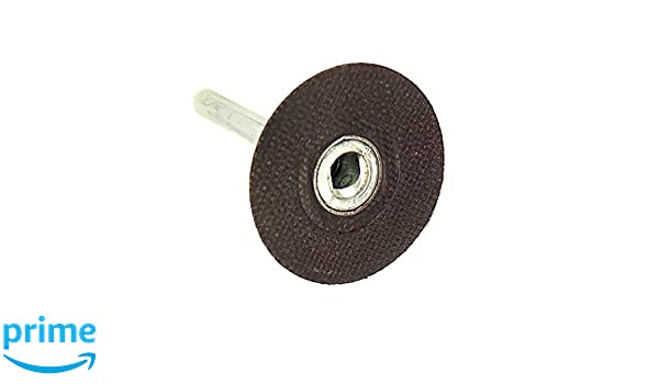 1-1//2 Precision Abrasives 75-0030 Roloc Disc Pad Holder 1//4 Shank