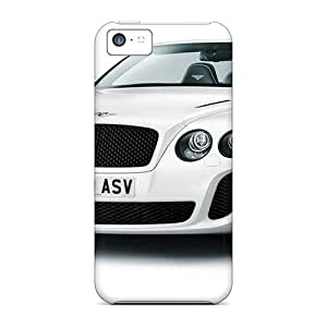 Flexible Tpu Back Case Cover For Iphone 5c - Bentley Continental Supersports Convertible
