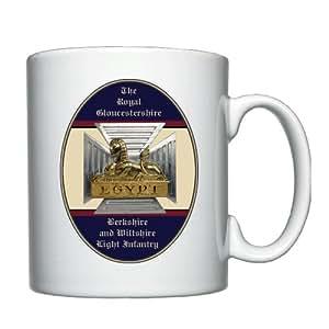 El Royal Gloucestershire Berkshire y Wiltshire Regimiento–taza personalizada