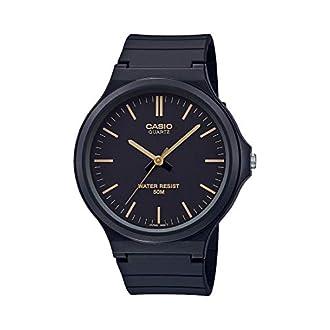 Casio Classic Quartz Watch with Resin Strap, Black, 21.45 (Model: MW-240-1E2VCF