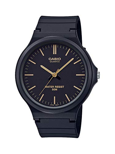 Casio Classic Quartz Watch with Resin Strap, Black, 21.45 (Model: MW-240-1E2VCF)