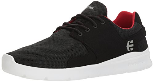 Etnies Men's Scout XT Skate Shoe, Black/White/red, 9.5 Medium US ()