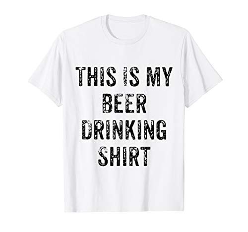 - This Is My Beer Drinking Shirt T-Shirt