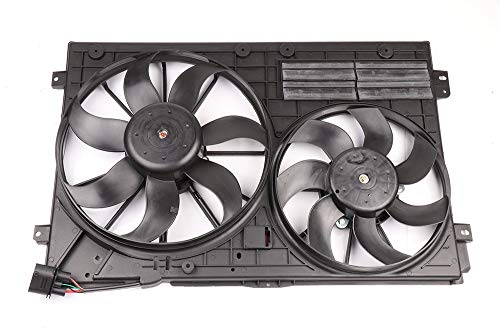 SCITOO Dual Radiator Condenser Cooling Fan Compatible
