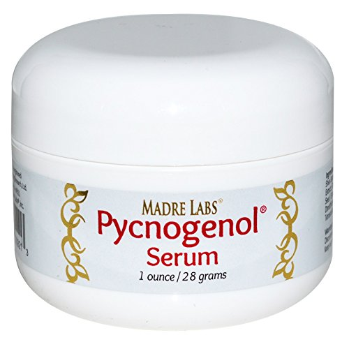 (Madre Labs, Pycnogenol Serum (Cream), Soothing and Anti-Aging, Non-GMO, Parabens Free, Gluten Free, Phthalate Free, 1 oz. (28 g))