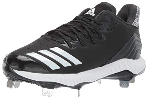 adidas Women's Icon Bounce, Black/White/Carbon, 9.5 M US