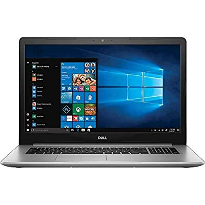 "2019 Dell Inspiron 17.3"" FHD Business Laptop Computer, 8th Gen Intel Quad-Core i7-8550U up to 4.0GHz, 16GB DDR4, 256GB SSD + 2TB HDD, AMD Radeon 530, 802.11ac WiFi, DVDRW, Windows 10 Professional"