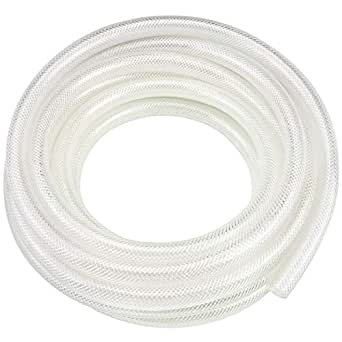 Tubo de vinilo de PVC transparente trenzado de alta