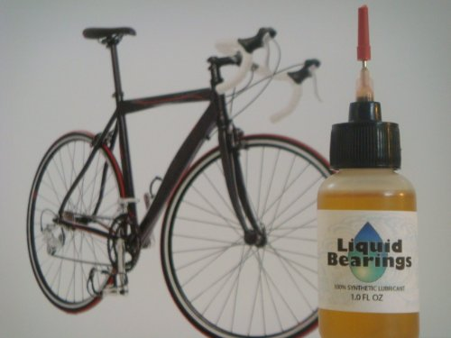 Liquid Bearings synthetic oil for Bicycles, Provides Superior Lubrication, Also Inhibits Corrosion (Synthetic Blend Chain Lube)