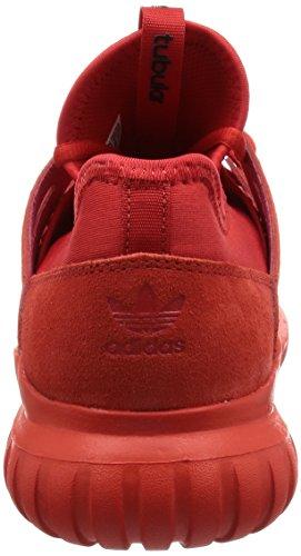 adidas Tubular Radial, Zapatillas Unisex Adulto rojo