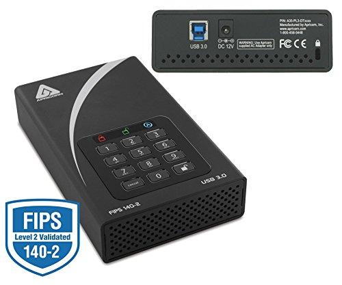 Apricorn Aegis Padlock DT FIPS ADT-3PL256F-6000 6 TB 3.5