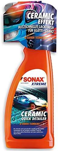 Sonax Xtreme Ceramic Quickdetailer 750 Ml Superschnelle Lackpflege Mit Ceramic Technologie Für Ein Perfektes Lackfinish Sorgt Für Eine Extreme Glätte Des Lacks Art Nr 02684000 Auto
