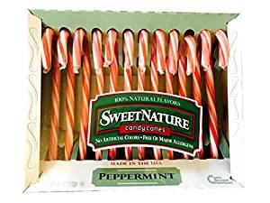 SPANGLER CANDY Candy Cane Red White Peppermint, 5.3 OZ