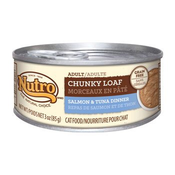 Nutro Natural Choice Adult Chunky Loaf Salmon & Tuna Dinner – 24x3oz Review