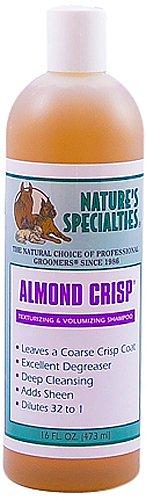 Nature's Specialties Almond Crisp Pet Shampoo, 16-Ounce, My Pet Supplies