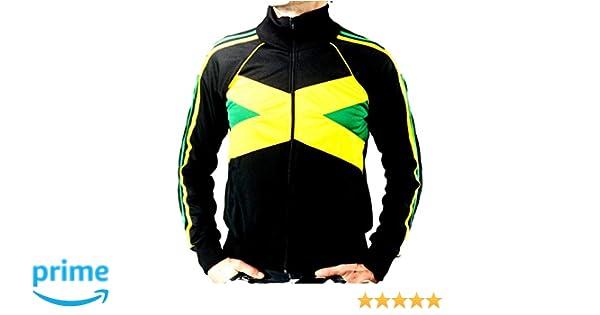 UHari Chaqueta Sudadera Rasta Reggae Jamaica Rastafari Unisex ...