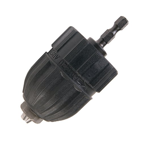 Hitachi 725405 3/8-Inch Keyless Conversion Chuck for 1/4-Inch Hex Impact Drivers (Chuck 8 3 Drill)