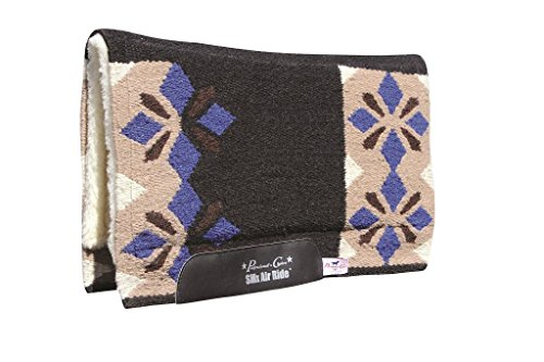 Air Ride Western Saddle Pad (PC Sparkle Comfort-Fit SMx Air Ride Saddle Pad Bla)