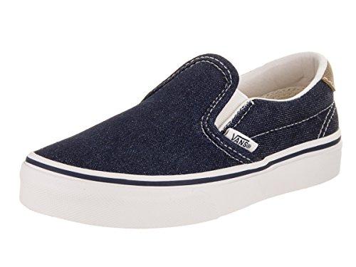 Vans Kids Slip-On 59 Denim C&L Drsbls/CHPMNK Skate Shoe 11 Kids US