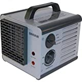 Broan 6201 Heater Big Heat Portable Ceramic Efficient Two-Level Heater w/Thermostat-2PK