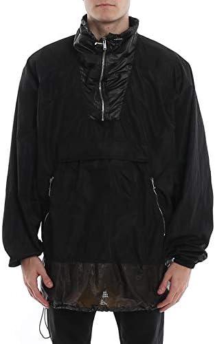 MARCELO BURLON Luxury Fashion Uomo CMEO002R20FAB0011010 Nero Giacca Outerwear | Primavera Estate 20  QsEEK