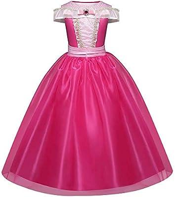 xiegons0 Niña Aurora Princesa Traje Disfraz Bella Durmiente ...