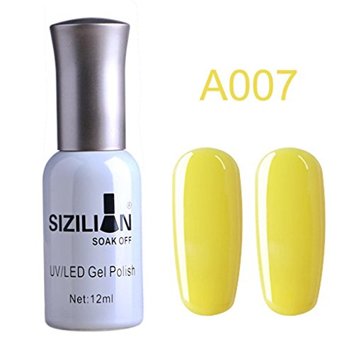 12ml Nail Polish Long Lasting UV LED Nail, Gel Lacquer Soak Off Nail Art Polish