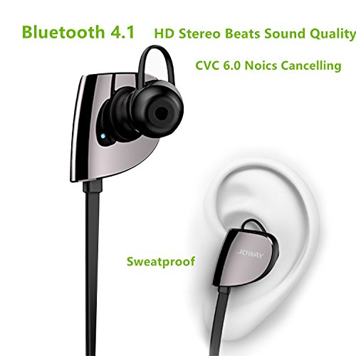 Best Pakway H07 Bluetooth Earbuds , HD Stereo Beats Sound Quality Wireless Headphones (Bluetooth