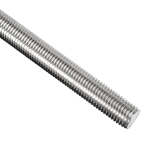 uxcell M16 x 250mm Fully Threaded Rod, 304 Stainless Steel, Right Hand Threads