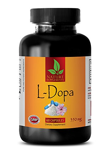Mood Enhancement Supplements - L-DOPA 350 MG - Dietary Supplement - dopa Capsules - 1 Bottle (60 Capsules) (Best L Dopa Supplement)
