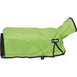 Weaver Leather ProCool Mesh Goat Blanket Lime Zest with Reflective Piping, Small