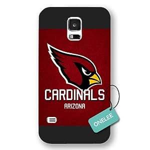 diy case - Arizona Cardinals Samsung Galaxy S5 Case & Cover - NFL LOGO Samsung Galaxy S5 Case & Cover - Frosted - Black 2