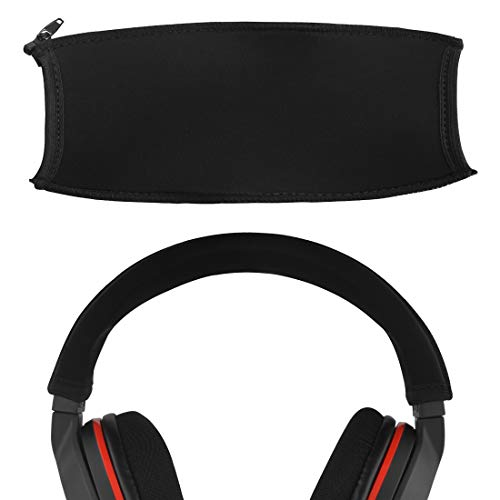 Geekria Headband Cover, Compatible with Turtle Beach Elite PRO, Ear Force Stealth 600, Stealth 700, Recon 320, X12, XO Seven, XP500, Ear Force PX24 Gaming Headset Replacement/Easy Installation