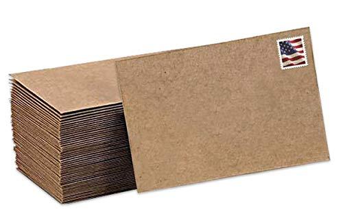 (Kraft Envelopes 100 Pack 5