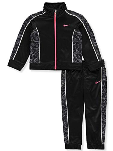 - Nike Baby Girls' 2-Piece Tracksuit - Black, 24 Months