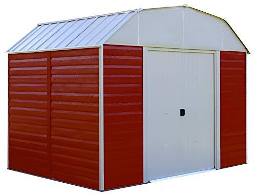 Amazon.com: Flecha rh108 Red Barn – 10-Feet por 8-Feet Acero ...