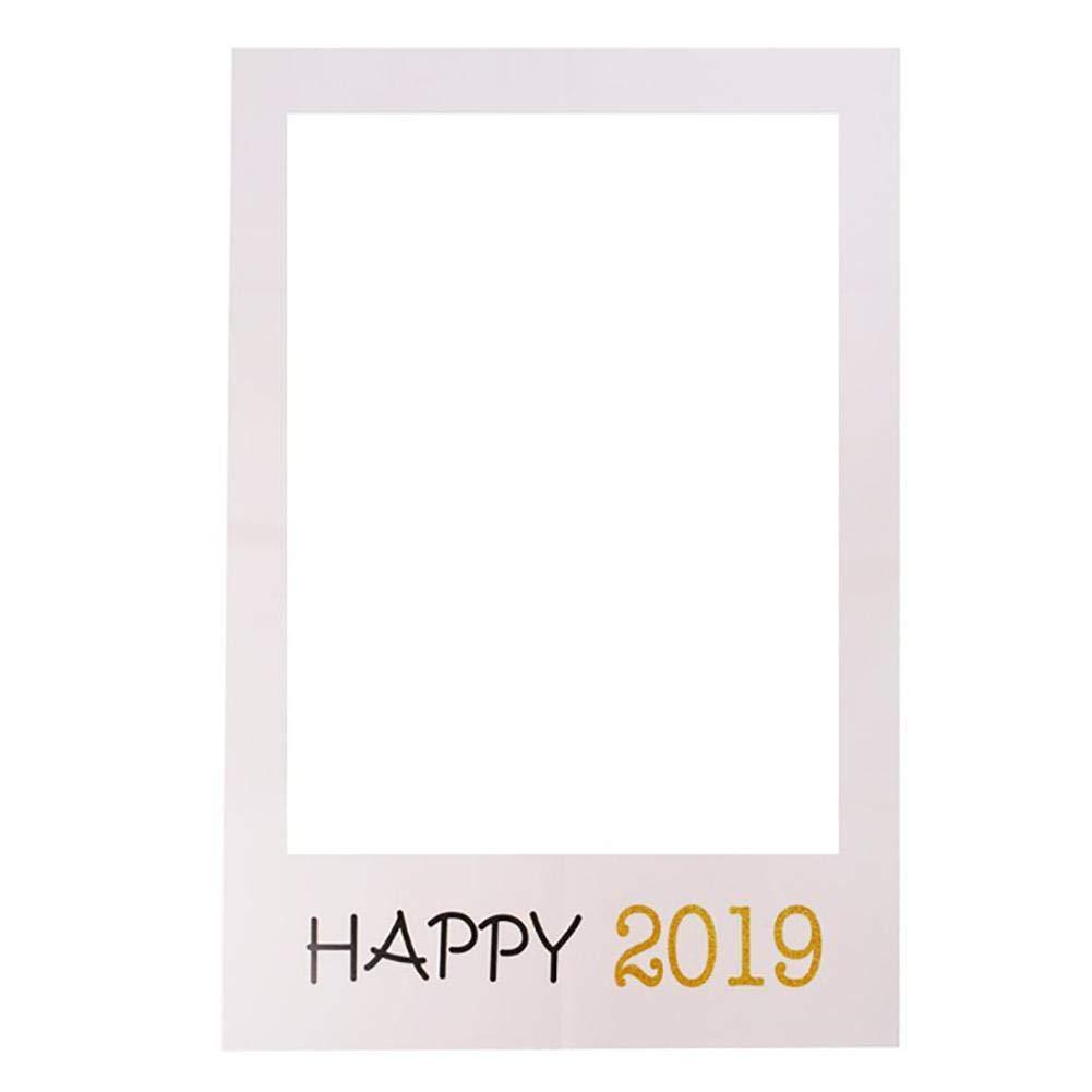 LeKing-2019 Happy New Year cadre photo en papier, accessoires photo en papier