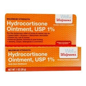 Walgreens Hydrocortisone Anti-Itch Ointment Maximum Strength, 1%, 1 oz by Walgreens