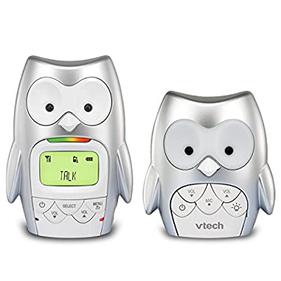 VTech DM226 DECT 6.0 Digital Audio Teddy Bear Baby Monitor with Night Light and Two-way Talk-back Intercom