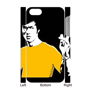 ANCASE Custom Color Printing Bruce Lee Phone 3D Case For Iphone 4/4s [Pattern-4]