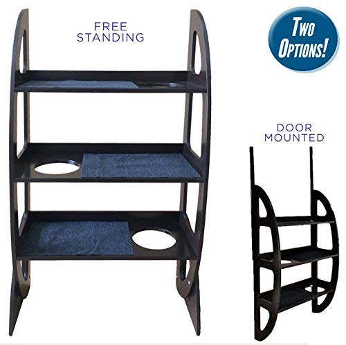 (Penn Plax Cat Walk Contemporary 2-in-1 Jungle Gym - Free Standing or Door Mounted)