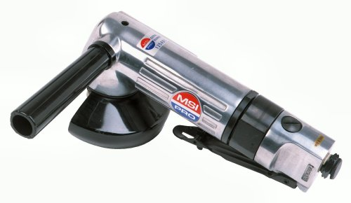 ANGLED AIR GRINDER - MSI PRO Heavy Duty Aluminum Body 0.65HP 12,000RPM - 9