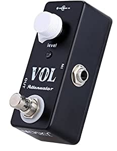 mosky mini vol attenuator pedal electric guitar effect pedal with true bypass. Black Bedroom Furniture Sets. Home Design Ideas