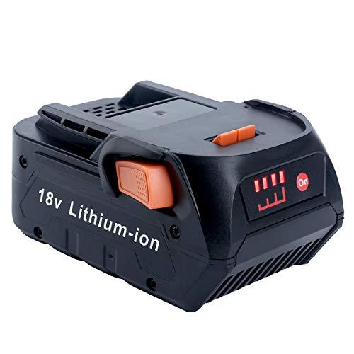 Epowon 18 Volt 4.0Ah Lithium Ion Compact Battery for RIDGID 18V Drill R840087 R840083 R840084 R840086 AC840085 AC840087P (18 Volt Battery Ridgid)