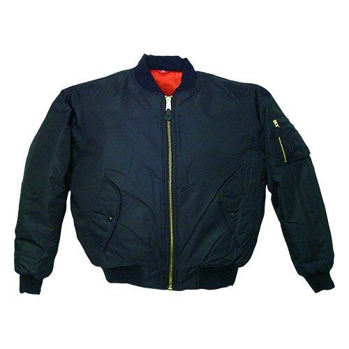 Fox Outdoor Products MA-1 Flight Jacket, Black, Medium