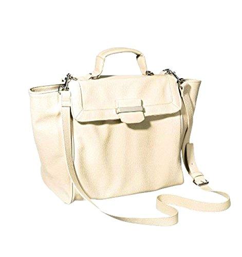 Mossimo Tote Handbag with Removable Crossbody (Cream)