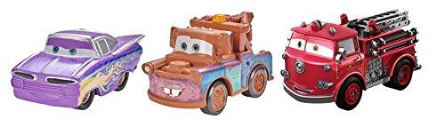 Metal Ramones (Disney/Pixar Cars Mini Racers Vehicles, 3 Pack - Mater, Ramone, Red Exclusive)