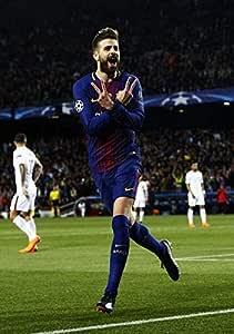 Desconocido Gerard Pique FC Barcelona la Liga España Fútbol Póster 10974 (A3-A4-A5) - A5: Amazon.es: Hogar