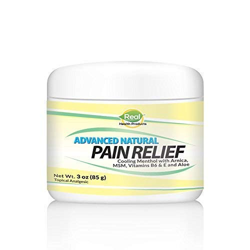 Advanced Arnica Pain Relief Cream: Ease Back Pain, Sciatica Nerve Pain, Sore Muscles & Joints. Highly Absorbable and Naturally Soothing. 3Oz